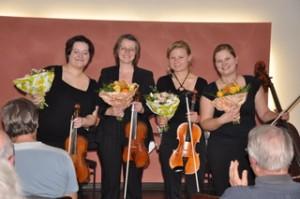 Milanollo Quartett bei der Daniel Honsack Gedächnis-Konzertreihe
